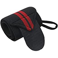 Strap Fitness Gym Sport Wrist Wraps Hand Support Wristband With Thumb Loops for Men & Women - Weight Lifting…