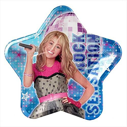 (Hannah Montana 'Rock the Stage' Star-Shaped Paper Plates (8ct))