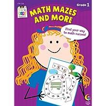 Math Mazes and More Stick Kids Workbook, Grade 1 (Stick Kids Workbooks)