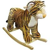 Charm Company Tipsy Tiger Rocker with Realistic Animal Sound