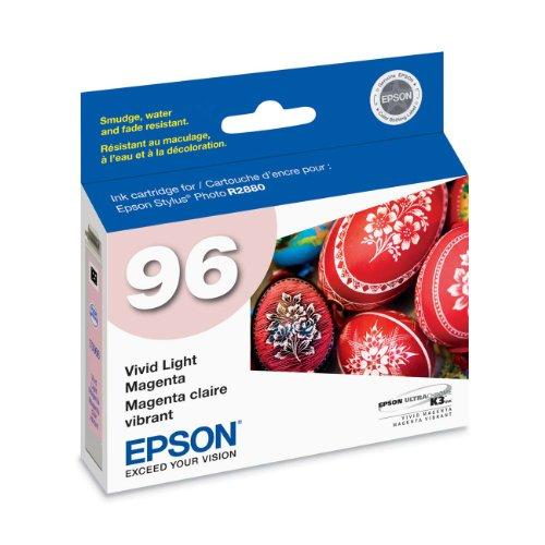 Epson UltraChrome K3 96 Inkjet Cartridge (Vivid Light Magenta) (Epson Light Magenta Inkjet)