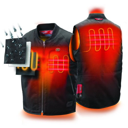 waterproof heated vest
