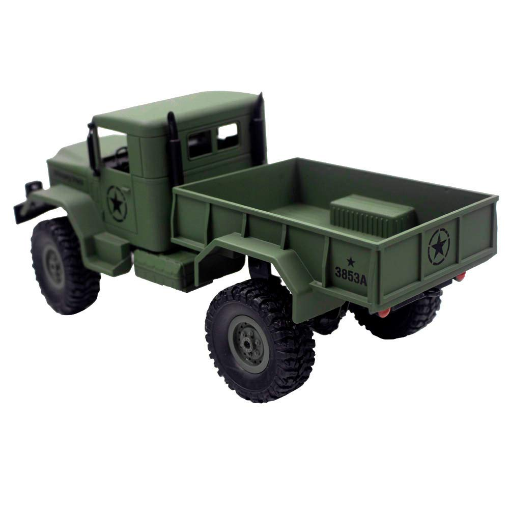 Choosebuy 1:16 Military Off-Road Remote Control Truck, Cool 6WD Powerful Engine Bright Spotlights RC Tracked Cars Toys with 2.4GHz Technology for Indoors/Outdoors (Army Green) by Choosebuy (Image #6)