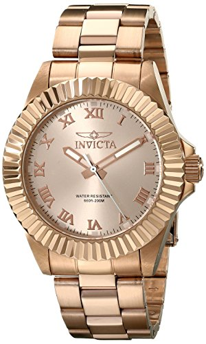 Invicta Men's 16738 Pro Diver Analog Display Swiss Quartz Rose Gold - Rose Mens Swiss