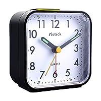 Pluteck Non Ticking Quartz Analog Alarm ...