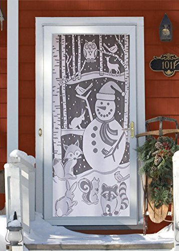 Snowman Panel - 6