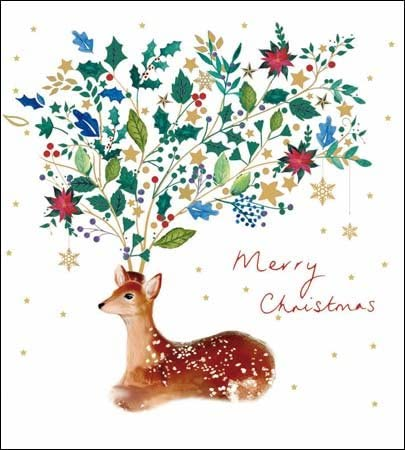 Pack of 5 Merry Christmas Alzheimers Society Charity Christmas Cards Xmas Card Packs: Amazon.es: Oficina y papelería