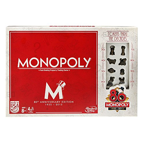 Monopoly Game (80th Anniversary) -