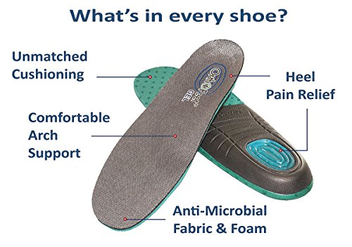 Orthofeet Monterey Bay Comfort Diabetic Wide Arthritis Orthotic Men's Sneakers Velcro White Synthetic 10 XXW US by Orthofeet (Image #2)