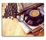 Luxlady Mousepad Cup hot coffe