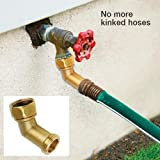 Liberty Garden Products 693 Free Standing Garden Hose Stand With Brass Faucet Holds 150 Feet Of 5 8 Inch Hose Bronze Amazon Ca Patio Lawn