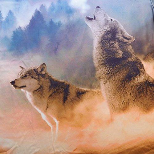 Tees Informale Wolf Animalier 3d Stampa Corta Yellow Manica Idgreatim shirt T Unisex Graphic OSqwx67C