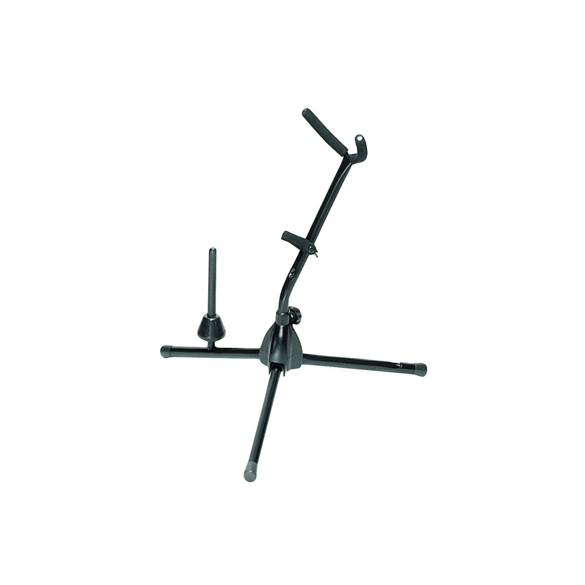 On-Stage SXS7101B Alto or Tenor Sax Stand with Flute Peg