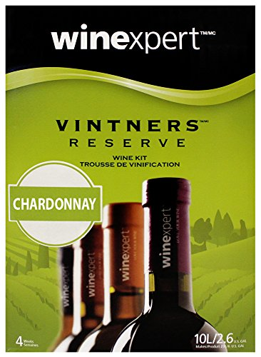 Apple Chardonnay Wine (Vintner's Reserve Chardonnay 10L Wine Kit)