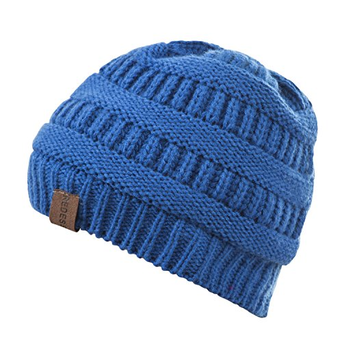 REDESS Baby Boy Winter Warm Fleece Lined Hat, Infant Toddler Kids Beanie Knit Cap for Girls and Boys [0-3years] by REDESS (Image #3)