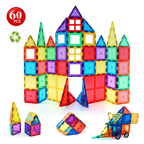 Children Hub 60pcs Magnetic Tiles