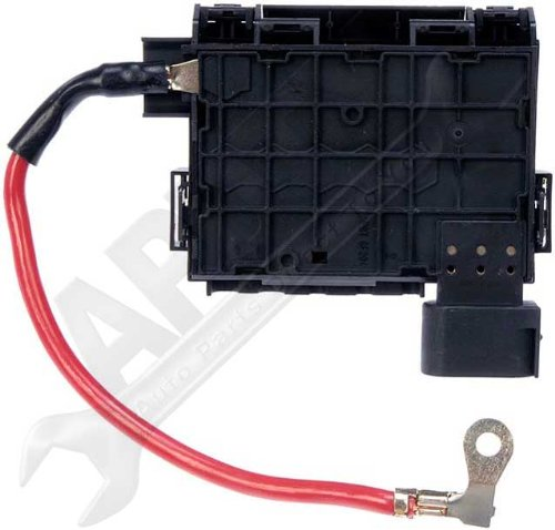 apdty 035792 fuse box assembly battery mounted with new ... accessories for 2003 vw jetta fuse box