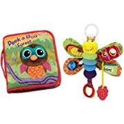 Lamaze Cloth Book, Peek-A-Boo Forest and Play and Grow, Freddie the Firefly