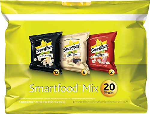 Price comparison product image Smartfood Popcorn Yellow Variety Pack, 20 Count