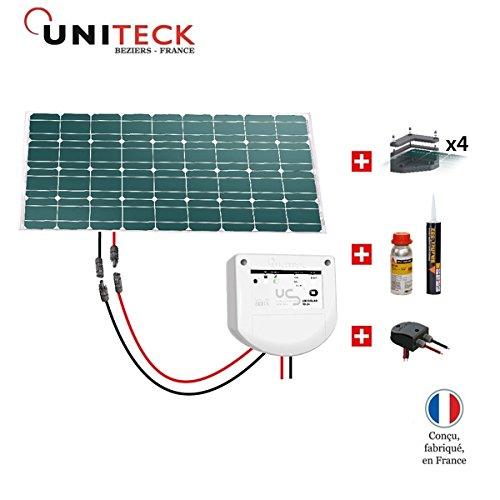 Kit solar Wohnmobil 80W 12V–uniteck