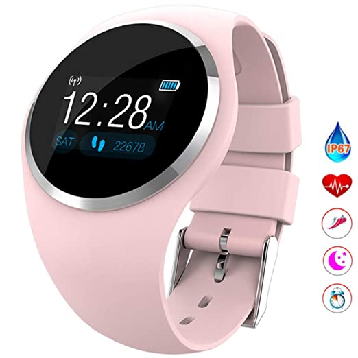 Linbing123 MS Smart Watches, SmartWatch para teléfonos ...