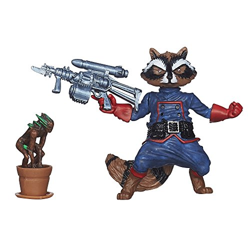 Marvel Infinite Series Rocket Raccoon Figure, 3.75