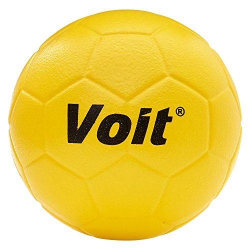 Voit #5 Tuff Foam Soccer Ball, Yellow (Ball Foam Tuff)