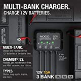 NOCO Genius GEN5X3, 3-Bank, 15-Amp