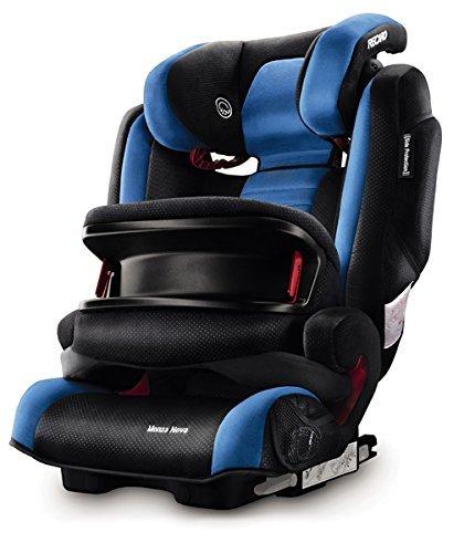 Recaro Monza Nova IS, Silla de coche grupo 1/2/3, azul: Amazon.es ...