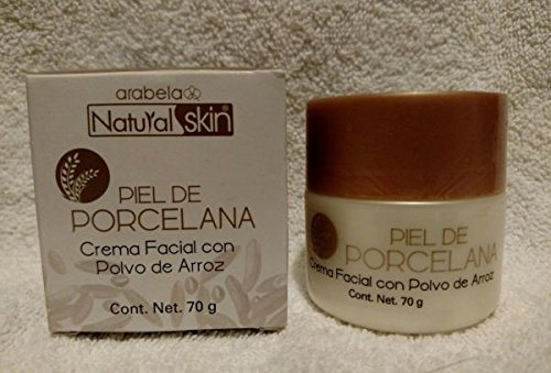 papel musical Mezquita  Natural Skin Piel de Porcelana Crema Facial con Polvo de Arroz 70g by  Arabela: Amazon.in: Beauty
