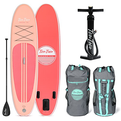 Retrospec Weekender 10' Inflatable Stand Up Paddleboard Bundle