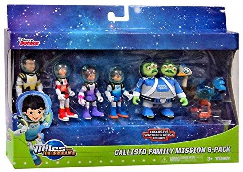 Miles from Tomorrowland Callisto Family Mission 6pk Figure Set