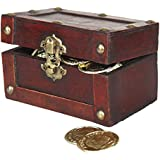 Mini Treasure Chest Full of Coins