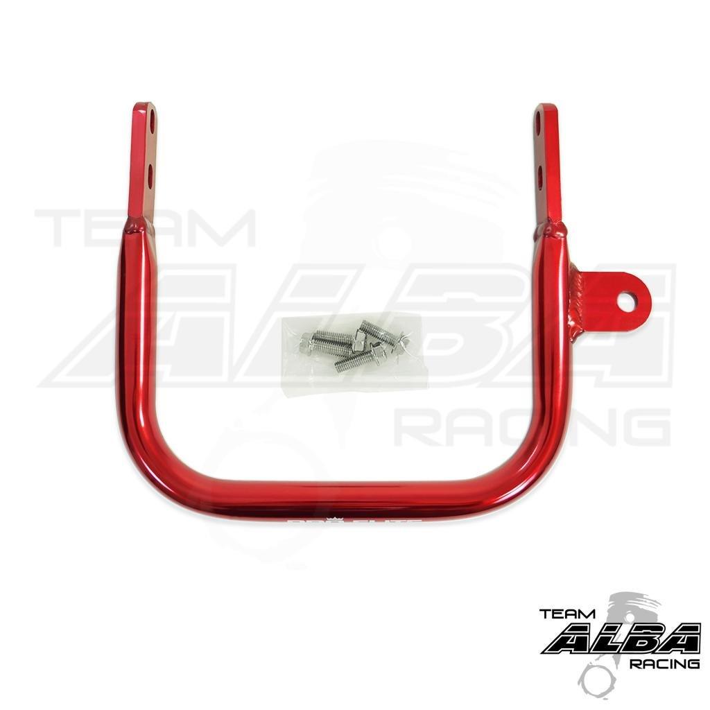 Yamaha Raptor 660 (2001-2005) ATV Rear Grab Bar Bumper Red