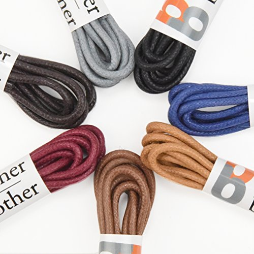 Brother Brother Colored Oxford Shoe Laces for Men (7 Pairs) (30'') by Brother Brother (Image #3)