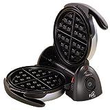 Presto 03510 FlipSide Belgian Waffle Maker, 7-inch, Black