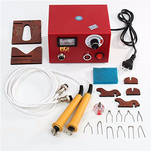 220V Multifunction Laser Gourd Wood Pyrography Craft Tool Kit Pyrography Machine by Som