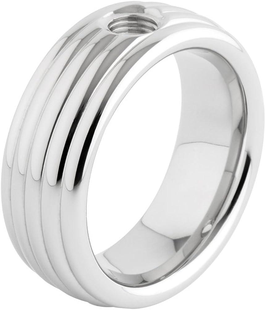 MelanO Vivid 62 Gr Ring Vera Edelstahl