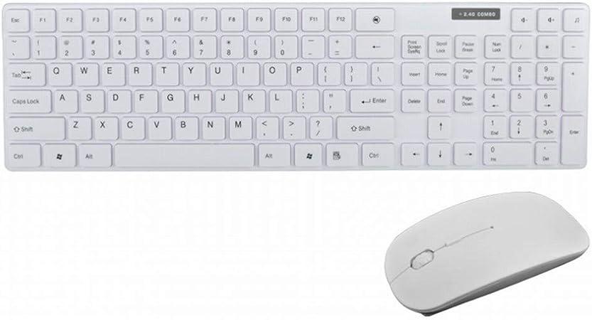 CN Teclado y Mouse inalámbricos configuran la Oficina del ...