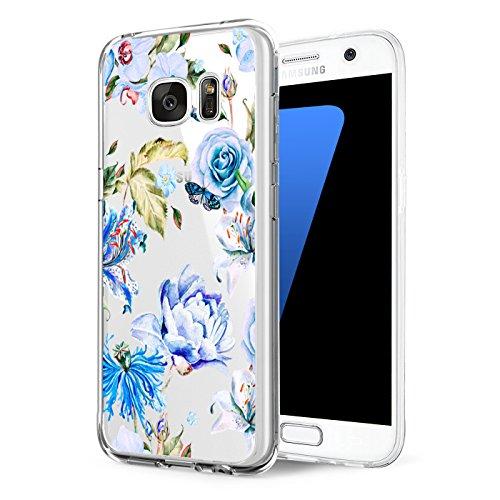 Price comparison product image Beryerbi Samsung s6 edge Plus Case Transparent Ultra Slim Soft TPU Anti-Scrape Protective Cover (6, galaxy s6 edge)