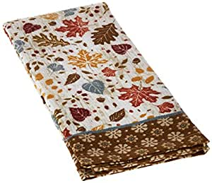Kay Dee Designs H2670 Woodland Leaves Cotton Terry Towel