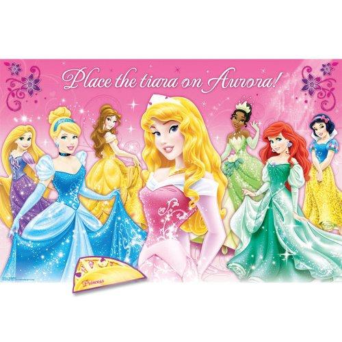 Disney Princess Pin The Crown Game Birthday And Theme