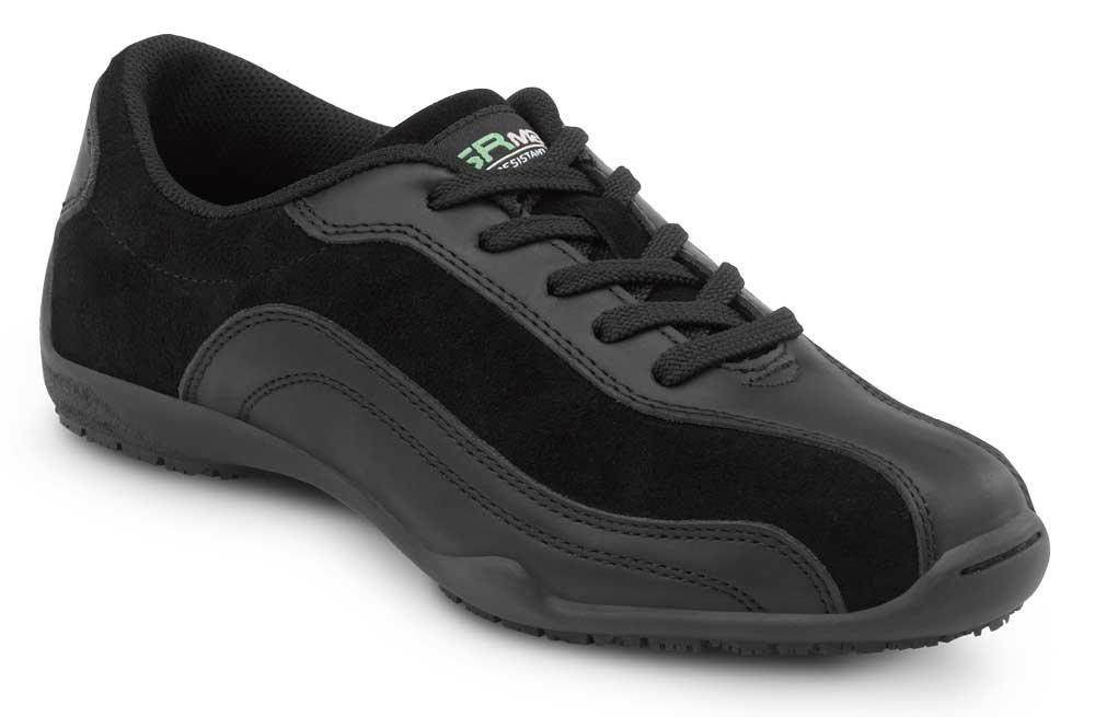 SR Max Malibu, Women's, Black, Athletic Style Slip Resistant Soft Toe Work Shoe