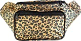 SoJourner Bags Cheetah Fanny Pack, Tan: more info