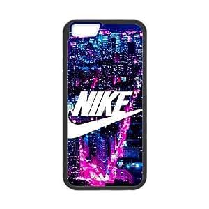 iPhone 6 6S Plus 5.5 Inch funda Negro [PC dura de la funda + HD Pattern] Nike Serie logo® [Numeración: FHJSFOHSL0253]
