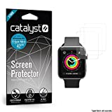 Apple Watch Screen Protector - 42mm Screen Protector for Series 3, Series 2 & Series 1 [3 Packs] Full Coverage Protective Film [Ultra Clear & Thin, Anti-Scratch iWatch Protection]