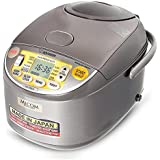Zojirushi Rice Cooker NS-YSQ10 Stainless Steel Brown