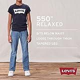 Levi's Boys 8-20 550 Relaxed Fit Jean Husky, DK
