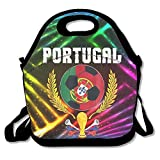 Noble Shop Portugal 2018 Soccer Team Lunch Boxes Lunch Tote Lunch Tote Bags