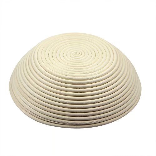 2 pack of 12 Inch Round Brotform Banneton Proofing Baskets Bread Bowl for Baking Dough with Rising Pattern (Bonus Linen Cover) by BabyFoxy (Image #4)